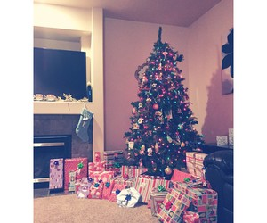 christmas, decorations, and presents image