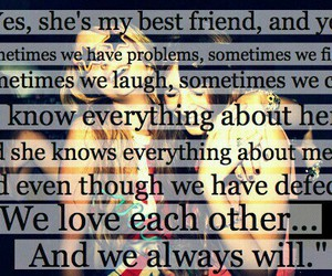 bff, know me, and perfect image