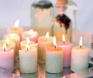cocooning, candle, and home image