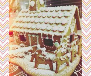 candy, christmas, and cottage image