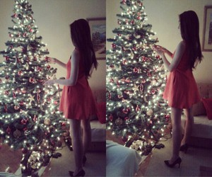 christmas, girl, and love image