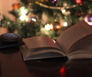book, calm, and christmas image
