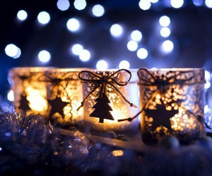 christmas and light image