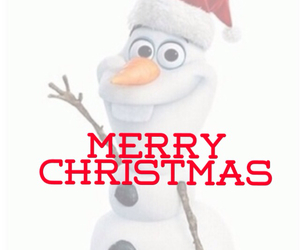 frozen, december 25, and merry christmas image