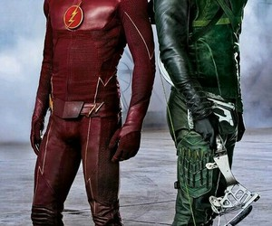 arrow, flash, and the flash image