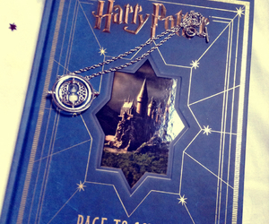 book, harry potter, and time travel image