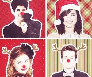 teen wolf, christmas, and scott mccall image