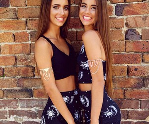 sister, twins, and cute image