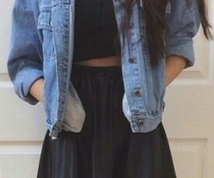black, girl, and outfit image