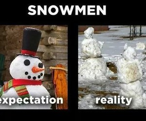 christmas, reality, and snow image