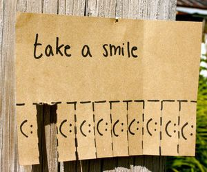 fun, smiley, and note image