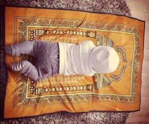 baby, islam, and pray image