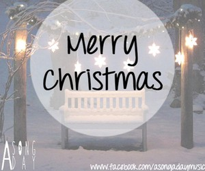 christmas, christmas lights, and merry christmas image