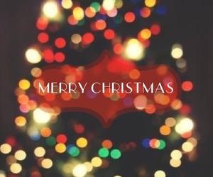 christmas, tree, and merry christmas image