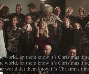 band aid, bastille, and Christmas time image