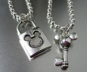 disney, key, and necklace image