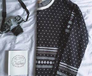 christmas, clothes, and sweater image