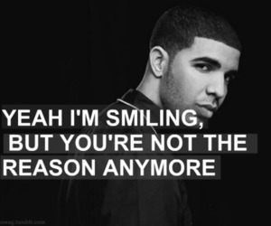 Drake, girly, and quote image