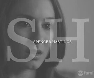 hastings, spencer, and pretty little liars image