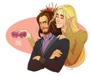 hobbit, lee pace, and thranduil image