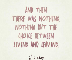 if i stay, quotes, and book image