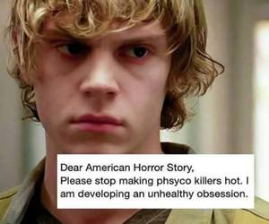murder house and tate langdon image