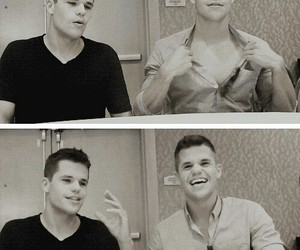 twins, max carver, and charlie carver image