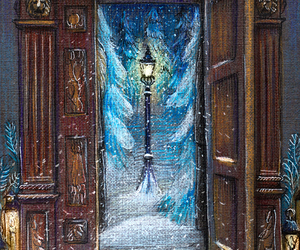 narnia, art, and christmas image