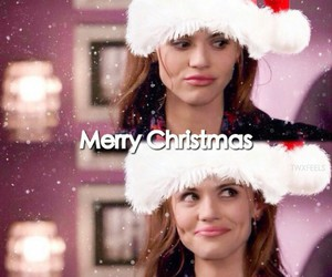 christmas, lydia, and merry image