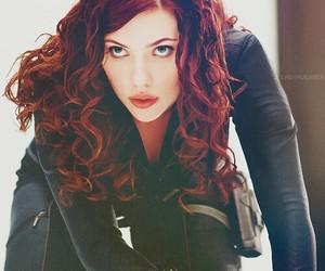 Scarlett Johansson, natasha romanoff, and black widow image