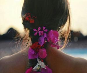 brazil, flower, and girl image