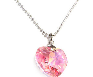 heart, necklace, and love image