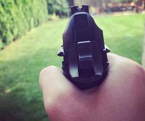 black and gun image