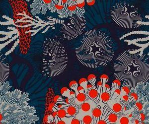 art, orange, and blue image