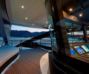 yacht and luxury image