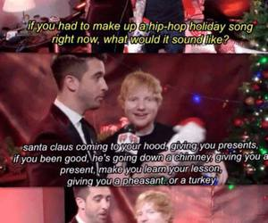 christmas and ed sheeran image