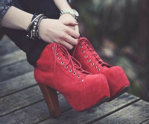 chaussure, girl, and shoes image
