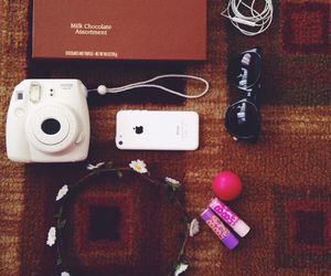 chocolate, iphone 5c, and eos image