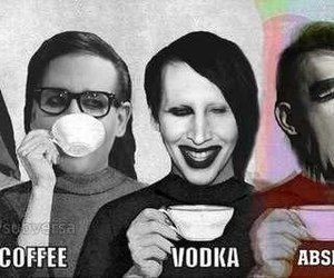 Marilyn Manson, drugs, and tea image