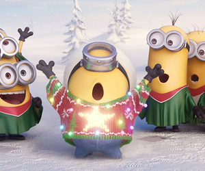 christmas and minions image