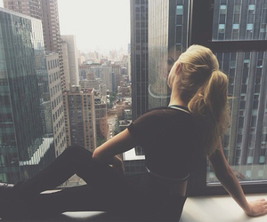 girl, city, and hipster image