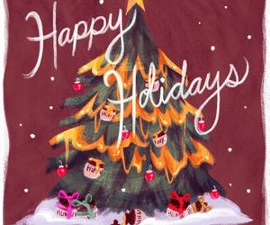 disney, happy holidays, and fun image