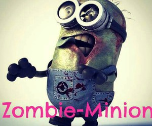 minions and zombie image