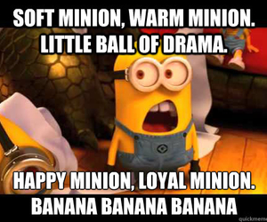 banana, drama, and funny image