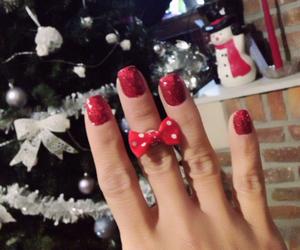nails and christmas nails image