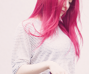 krystal red hair, krystal hair, and krystal cute image