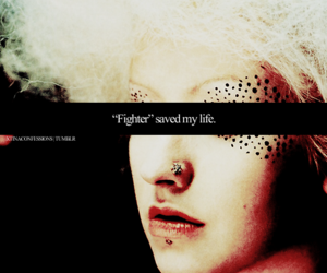 christina aguilera and fighter image