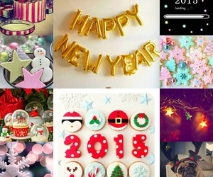 happiness, new year, and 2015 image