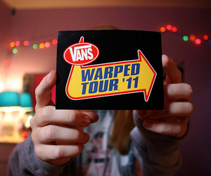 photography, vans, and warped tour image