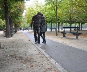 hug, paris, and love image